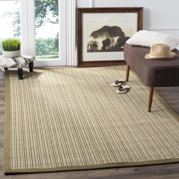 Safavieh Casual Natural Fiber Dream Green Sisal Rug (5' x 8')