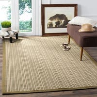 Safavieh Casual Natural Fiber Dream Green Sisal Rug - 6' x 9'