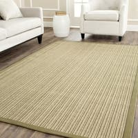 Safavieh Casual Natural Fiber Dream Green Sisal Rug - 7'6 x 9'6