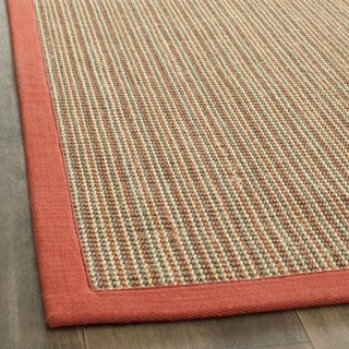 Safavieh Casual Natural Fiber Dream Rust Sisal Rug (2' 6 x 8')