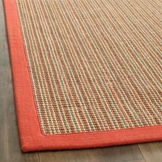 Safavieh Casual Natural Fiber Dream Rust Sisal Rug (3' x 5')