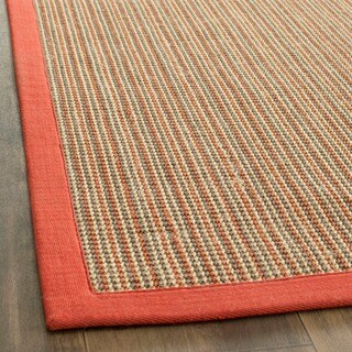 Safavieh Casual Natural Fiber Dream Rust Sisal Rug - 3' x 5'
