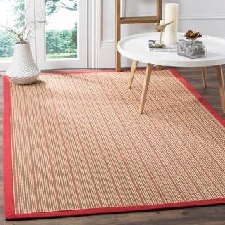 Safavieh Casual Natural Fiber Dream Rust Sisal Rug (5' x 8')