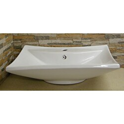 Fine Fixtures Vitreous China White Vessel Sink