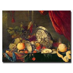 Jan Davidz de Heem 'Still Life' Canvas Art