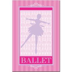 Grace Riley 'Ballet in Pink I' Canvas Art