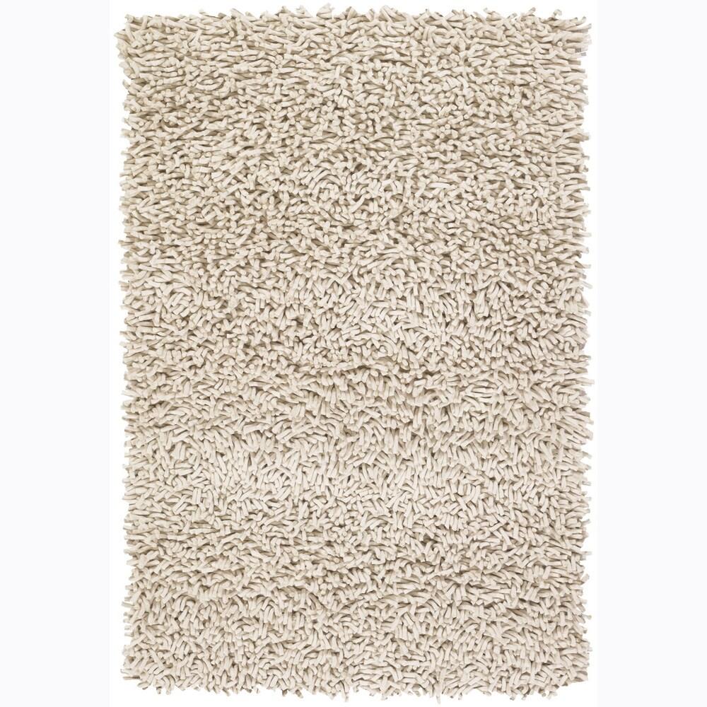 Shop Artist S Loom Hand Woven Wool Shag Rug 7 9x10 6 7