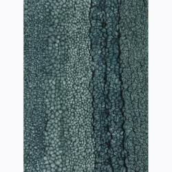 Artist's Loom Hand-tufted Contemporary Stripes Wool Rug (5'x7'6) - Thumbnail 1