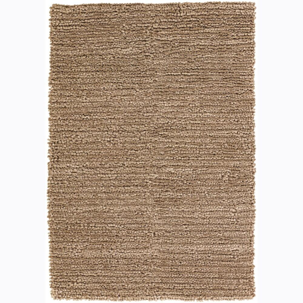 """Artist's Loom Hand-woven Wool Shag Rug (5'x7'6) - 5' x 7'6"""""""