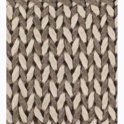 Artist's Loom Hand-woven Contemporary Abstract Wool Rug (5'x7'6) - Thumbnail 2