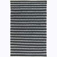 Artist's Loom Hand-woven Contemporary Stripes Wool Rug - 5' x 7'6""