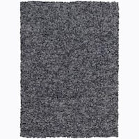 Artist's Loom Hand-woven Natural Eco-friendly Cotton Shag Rug (7'9x10'6)