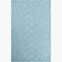 Artist's Loom Hand-woven Contemporary Abstract Natural Eco-friendly Cotton Rug (7'9x10'6) - 7'9 x 10'6