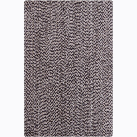 Artist's Loom Hand-woven Contemporary Abstract Natural Eco-friendly Cotton Rug - 7'9 x 10'6