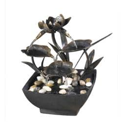 Cadono Tabletop Metal Leaves Water Fountain|https://ak1.ostkcdn.com/images/products/6431218/78/657/Cadono-Tabletop-Metal-Leaves-Water-Fountain-P14035255.jpg?impolicy=medium