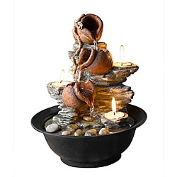 Tavolo Luci Tabletop Mini Pot Water Fountain - Thumbnail 0
