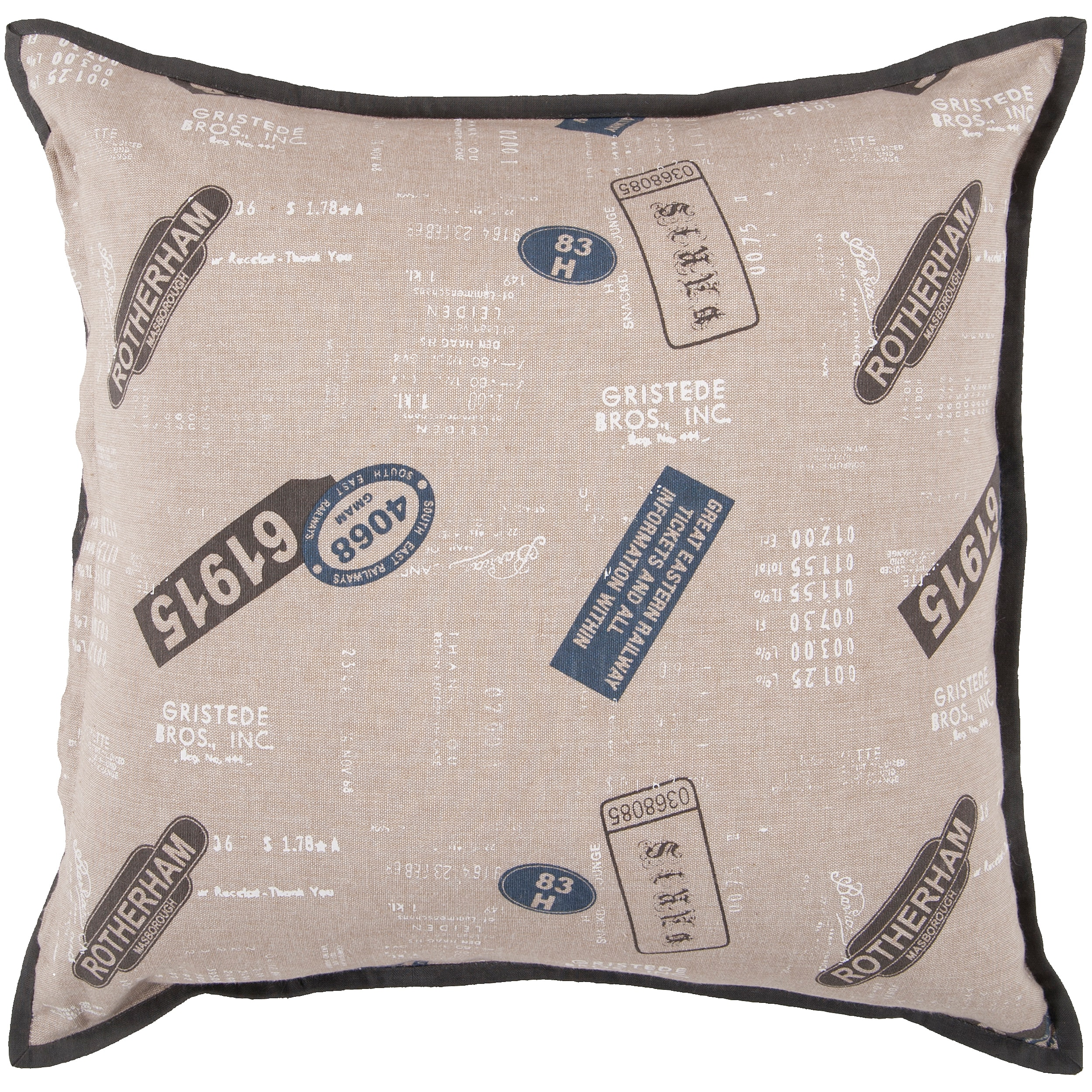Zing 22-inch Poly Decorative Pillow