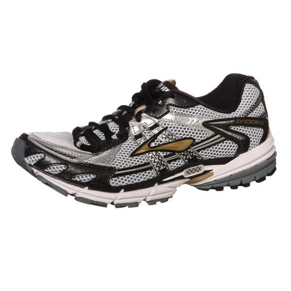 76ebaebd19cd1 Shop Brooks Men s  Ravenna 2  Black Gold Athletic Shoes - Free ...