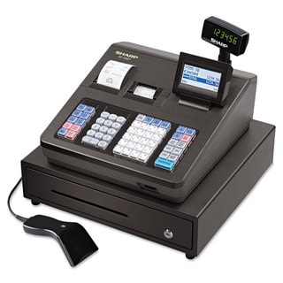 Sharp XE Series Cash Register with Scanner Thermal Printer 7000 Lookup 40 Clerks LCD