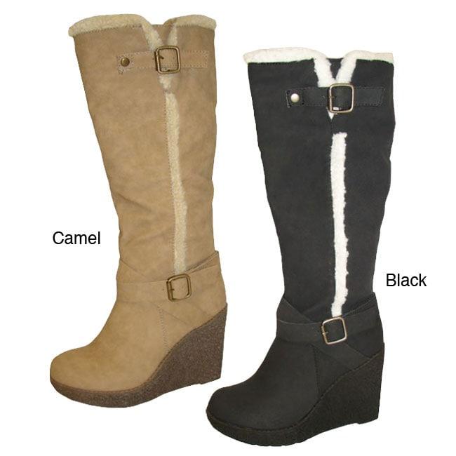 Bucco Women's 'Larena' Knee-high Boot