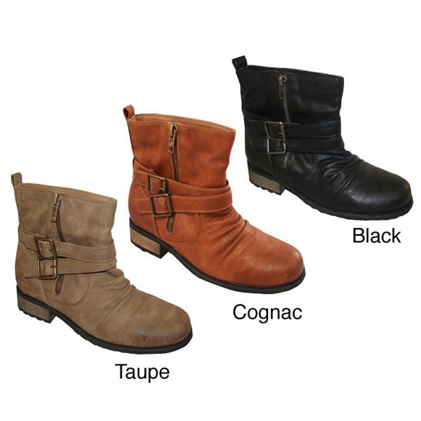 Bucco Women's 'Lenore' Ankle-high Booties