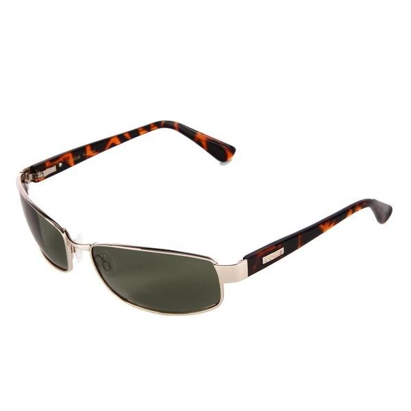Bolle Men's 'Delancey' Shiny Gold Tortoise Fashion Sunglasses