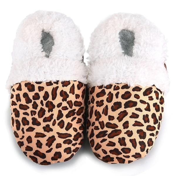Leopard Spots Soft Sole Baby Shoes