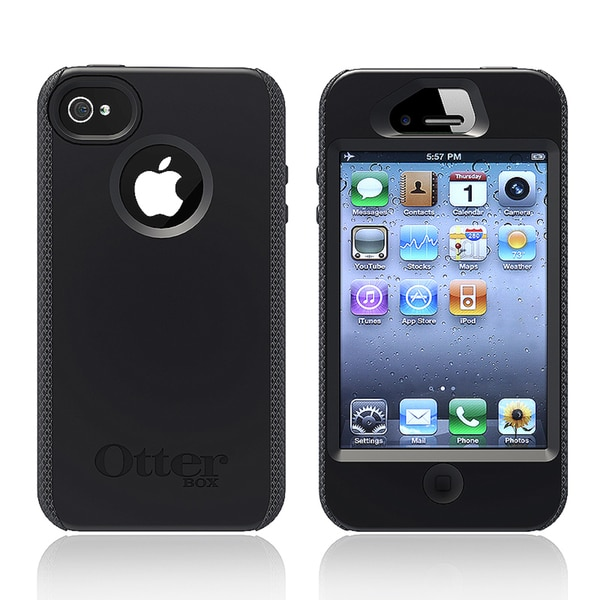 Otter Box Apple iPhone 4/ 4S black impact case APL1-I4SUN-20-E4OTR. Opens flyout.