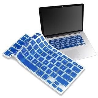 INSTEN Dark Blue Soft Silicone Keyboard Skin Shield for Apple MacBook Pro