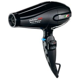 BaBylissPRO Nano Portofino Black 2000 Watt Hair Dryer