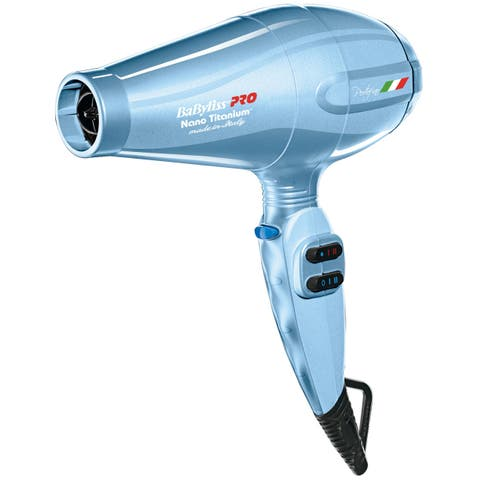 BaBylissPRO Nano Portofino Blue 2000 Watt Hair Dryer