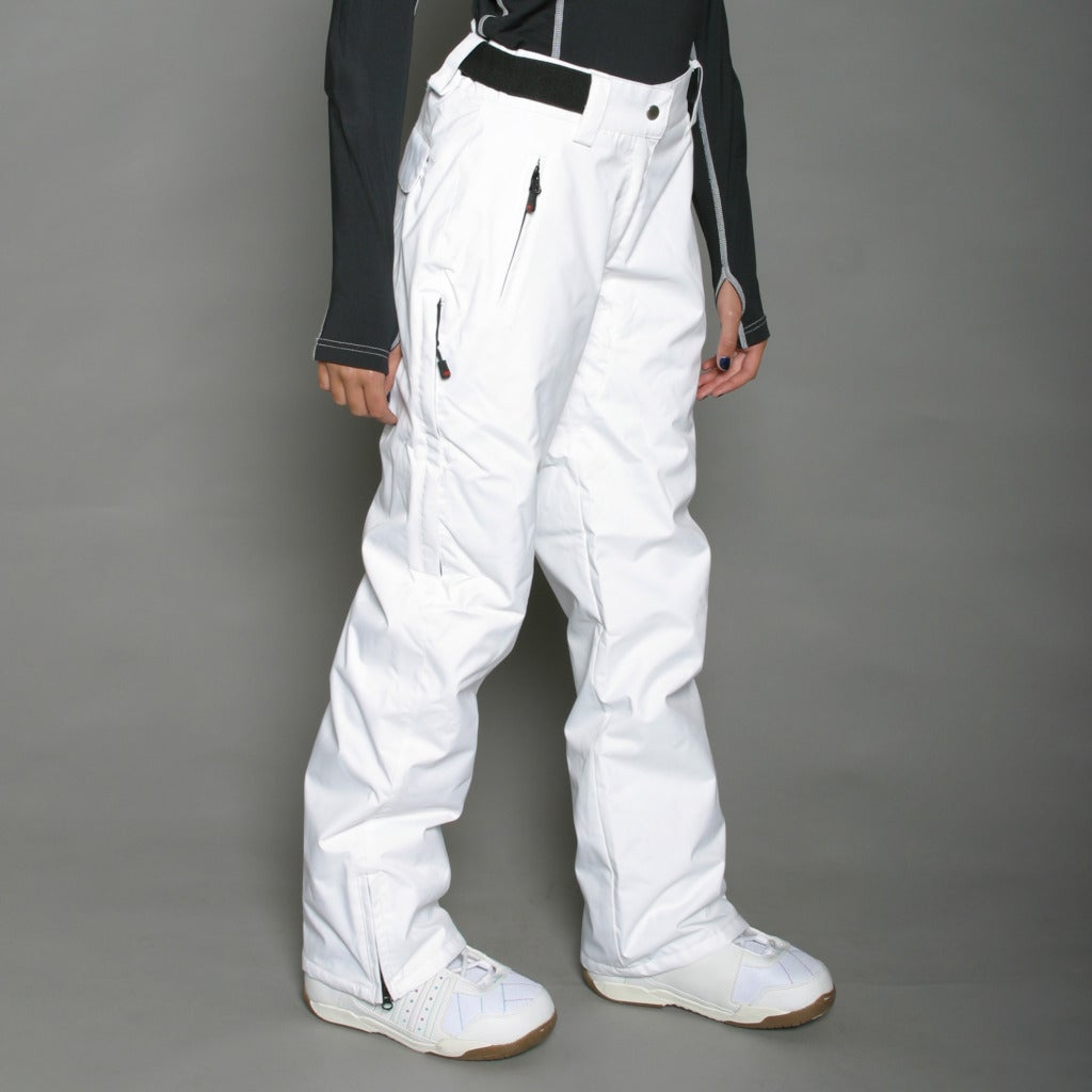 Marker Women's Betty Insulated White Snowboard Pants - Thumbnail 0