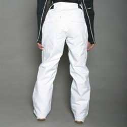 Marker Women's Betty Insulated White Snowboard Pants - Thumbnail 1
