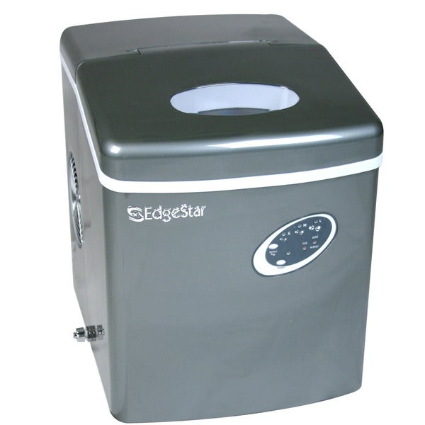Kitchen Countertop Ice Maker : EdgeStar Countertop Titanium Portable Ice Maker - Free Shipping Today ...