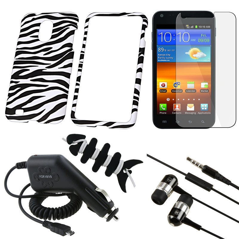 Case/ LCD Protector/ Headset/ Charger/ Wrap for Samsung Epic Touch 4G