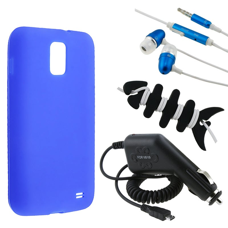 BasAcc Case/ Headset/ Charger for Samsung Galaxy S2 Skyrocket i727