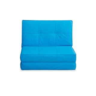 Baltimore Blue Convertible Chair Bed
