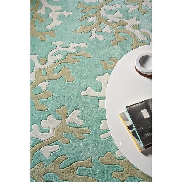Hand-tufted Polyester Rug (5' x 7' 6)