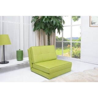 Baltimore Green Convertible Chair Bed