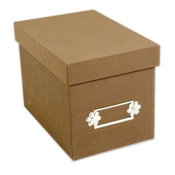 Sizzix Large Tan Storage Box