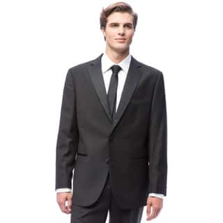 Men's Black 2-button Tuxedo|https://ak1.ostkcdn.com/images/products/6434074/P14037524.jpg?impolicy=medium