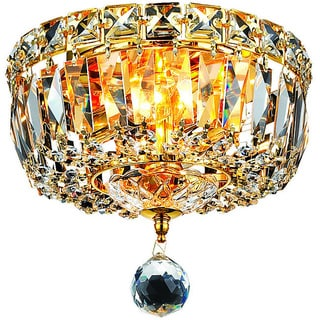 Somette Gold 2-Light Chandelier