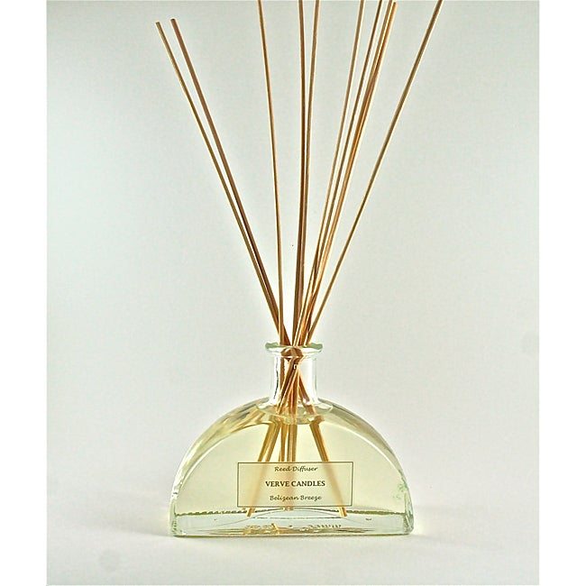 Verve Candles Modern Reed Diffuser with Fragrance Oil and 15 Sticks