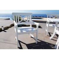 Bradley Eco-friendly Outdoor Wood Arm Chair