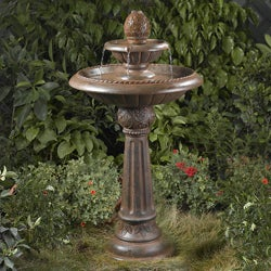 Ananas Pineapple Two-Tier Water Fountain