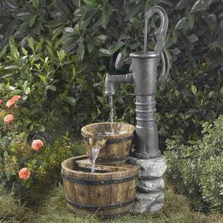 Old Fashioned Water Pump Fountain