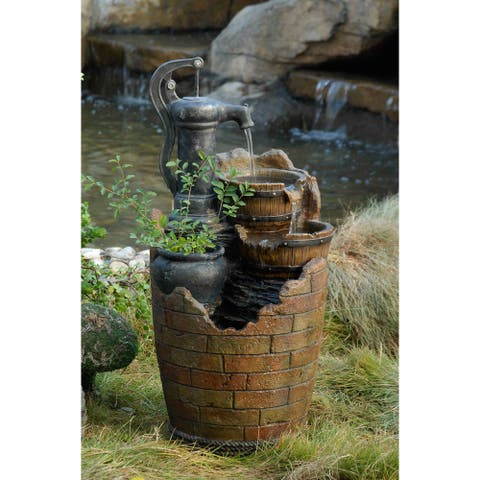 Glenville Water Pump Cascading Water Fountain