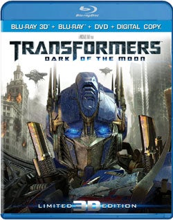 Transformers: Dark of the Moon (Ultimate Edition) 3D (Blu-ray/DVD)