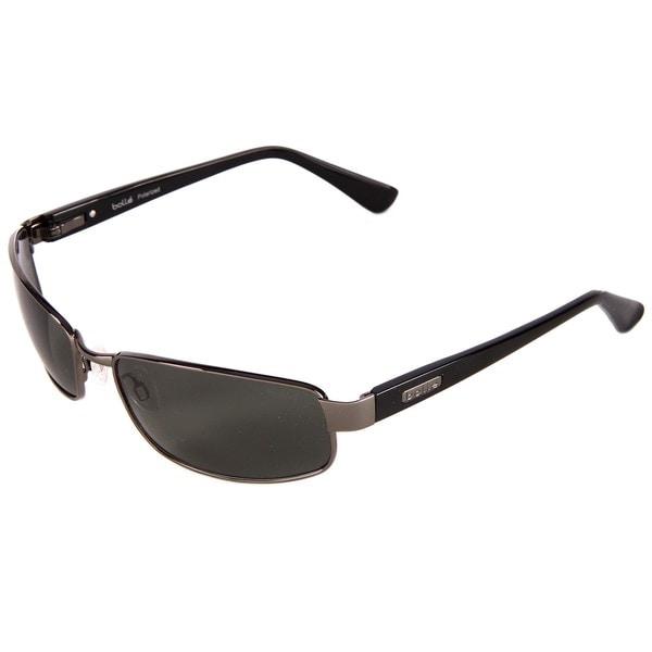 Bolle Men's 'Delancey' Gunmetal Sport Polarized Sunglasses