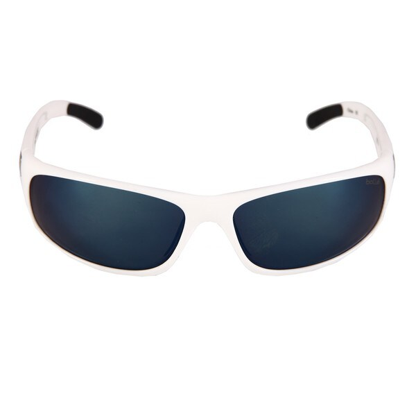 Bolle Men's 'Anaconda' Shiny White Polarized Sport Sunglasses